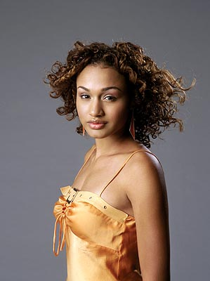 Mercedes Scelba-Shorte is a participant in America's Next Top Model on UPN.  Photo:  Sascha Pflaeging/CBS. ©2003 CBS Broadcasting Inc.  All Rights Reserved.