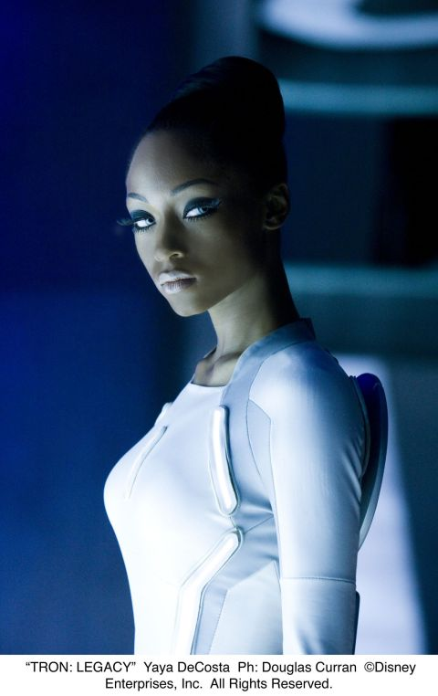"""TRON: LEGACY"" Yaya DeCosta Ph: Douglas Curran ©Disney Enterprises, Inc.  All Rights Reserved."