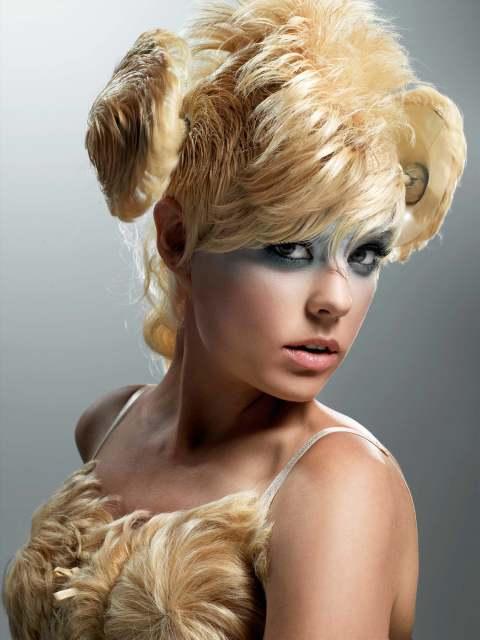 Фото причёски моделей