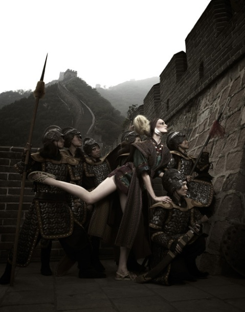 """The Girls Go To The Great Wall"" -- The girls participate in a warrior-themed photo shoot photographed by Tyra Banks on America's Next Top Model on The CW. Pictured: Jenah Photo: Tyra Banks/Pottle Productions Inc ©2007 Pottle Productions Inc. All Rights Reserved."