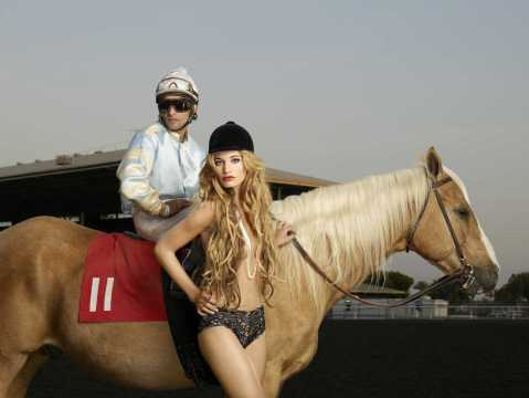 """Fortress of Fierceness"" -- This week's photo shoot takes the girls to Santa Anita Race Track where they give Lady Godiva a run for her money on America's Next Top Model on The CW. Pictured: Kara Cycle 13 Photo: Firooz Zahedi/Pottle Productions Inc ©2009 Pottle Productions Inc. All Rights Reserved."